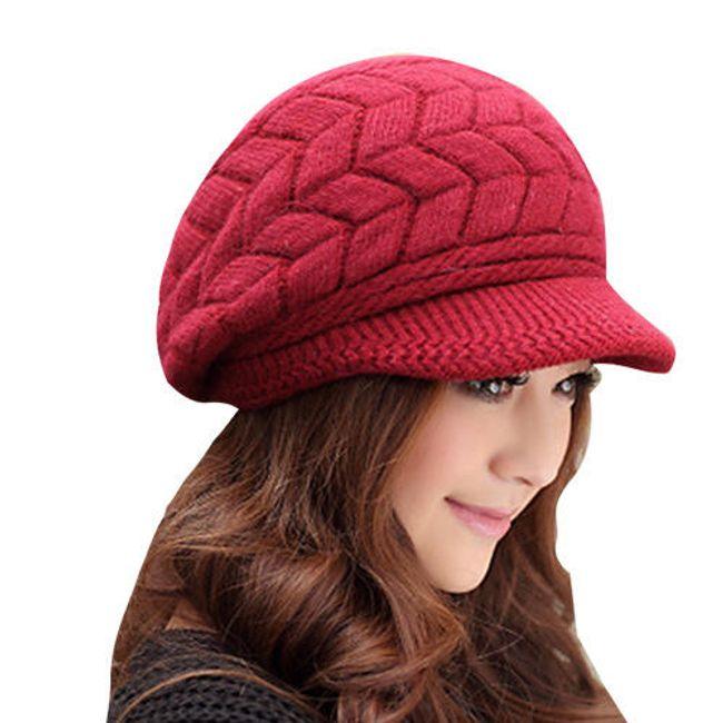 Ženska zimska kapa 1