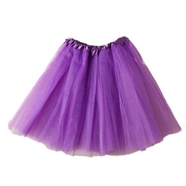 Dámská tutu mini sukně - 12 barev 1