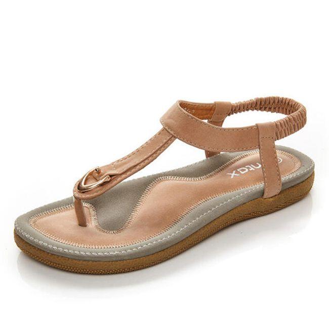 Udobne in mehke ženske sandale - 2 barvi 1