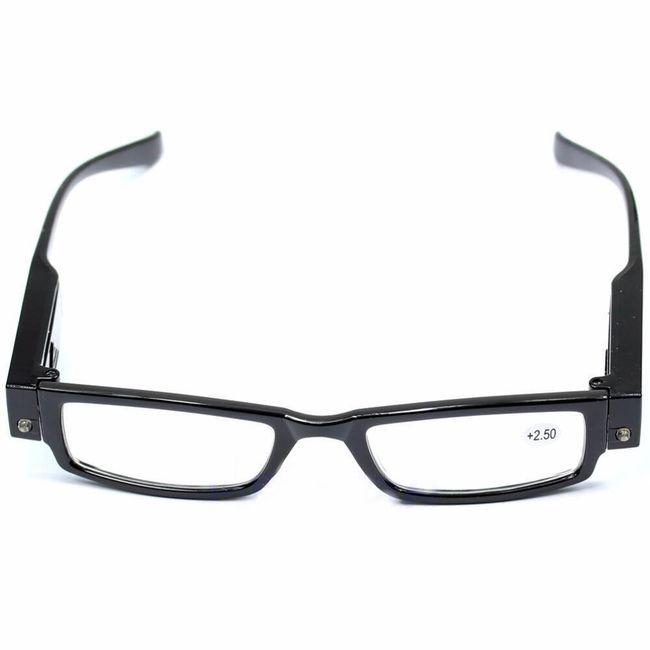 Bralna očala z LED lučjo 1