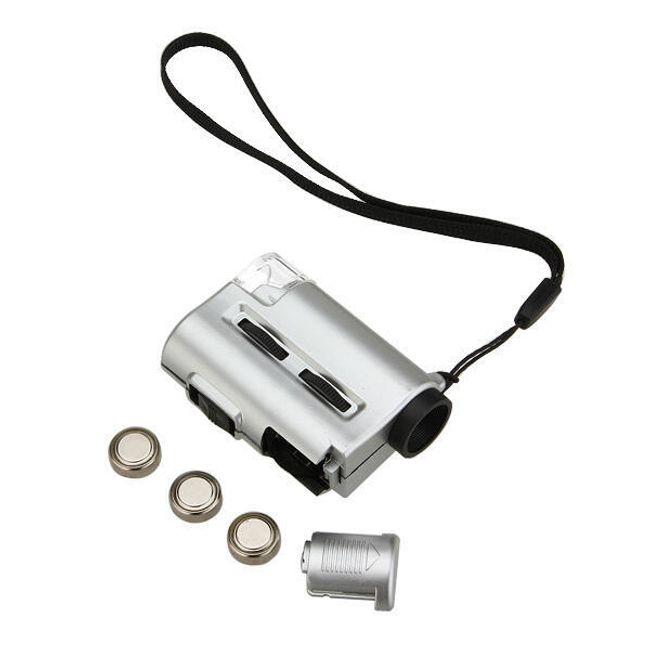 Mini microscop cu iluminare LED 1