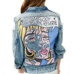 Bayan kot ceket DDB4
