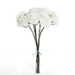Trandafiri artificiali - 10 bucăți
