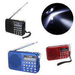 Přenosný hudební přehrávač s FM radiem - 3 barvy
