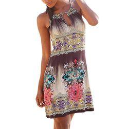 Дамска рокля без ръкави HX19
