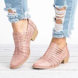 Dámské boty na podpatku Lindara