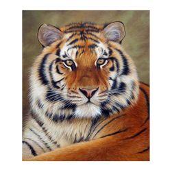 DIY картина - тигър