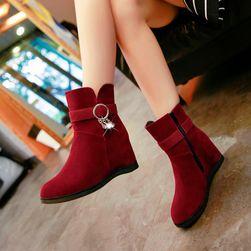 Dámské boty na klínku - 2 barvy