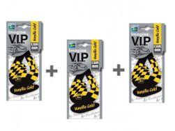 3x IMAGINE V.I.P. papírový osvěžovač  - Vanilla Gold