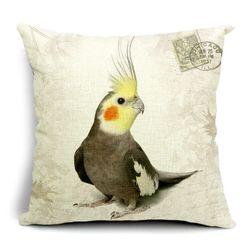 Калъфка за възглавница - папагал