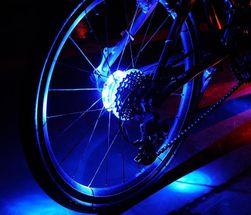 LED svetlo za točak bicikla - 5 varijanti