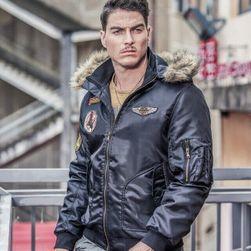 Pánská bunda Rick - Černá-velikost č. 4