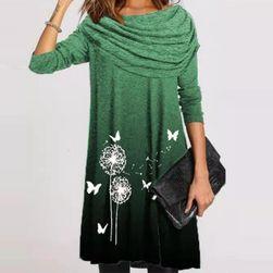 Ženska obleka z dolgimi rokavi VES8