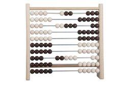 Numărătoare 100 biluțe din lemn / metal 24x23cm RM_33014050