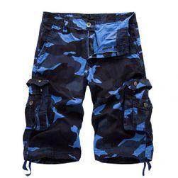 Pánské tříčtvrteční kalhoty s kapsami