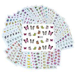 Nalepnice za nokte - 50 listova