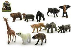 Zwierzęta safari ZOO plastikowe 10cm  RM_00311816