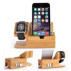 Dřevěný držák pro dobíjení telefonu DDT45