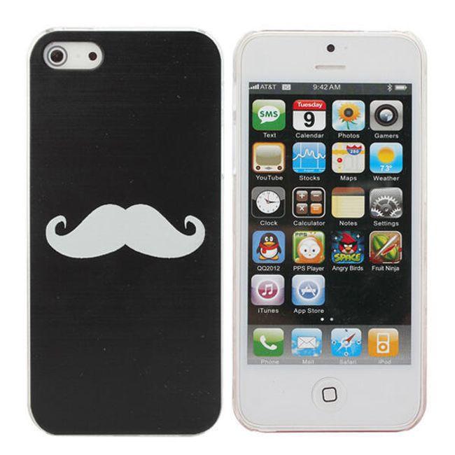 Plastový ochranný kryt na iPhone - motiv Movember 1