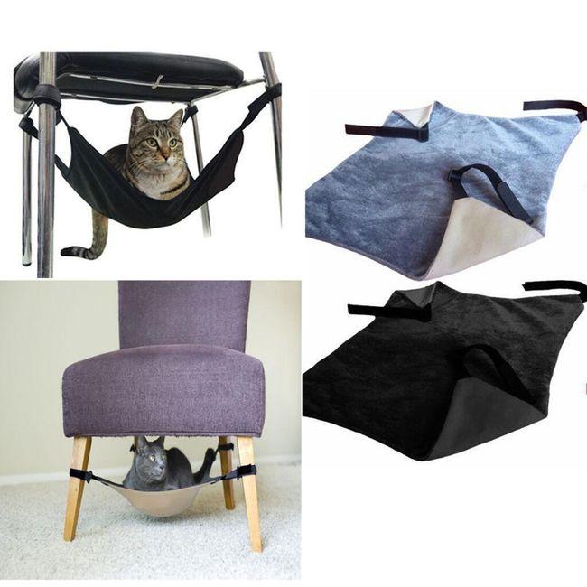 Качающийся гамак для кошек 1