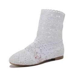 Ženski škornji Bela velikost 37