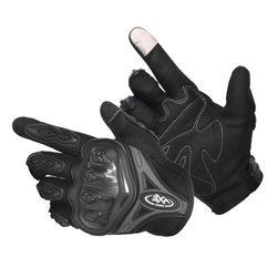Prodyšné rukavice na motorku - 3 barvy