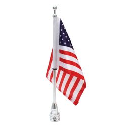 Steag SUA pentru motocicleta