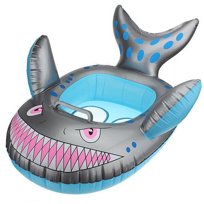 Nafukovací kruh v designu žraloka 1