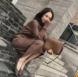 Ženska pletena haljina Charlie