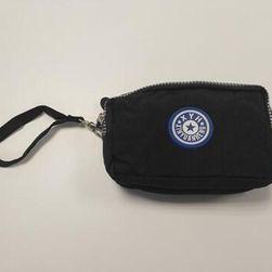 Женский кошелек с отделением для мелочей - черный цвет