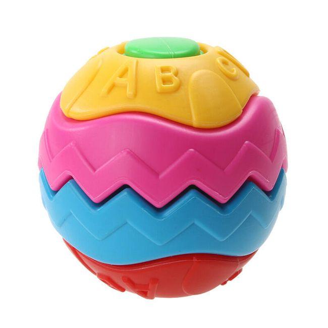 Plastová skládačka - míček 1
