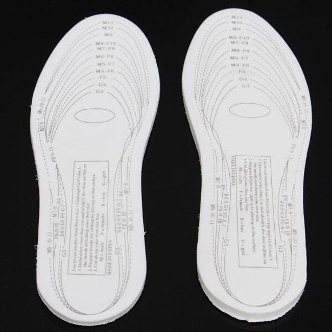 Branțuri cu spumă de memorie pentru pantofi 1