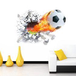 3D samolepka pro fotbalové fanoušky