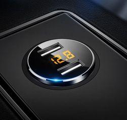 Двойное зарядное устройство для автомобильного прикуривателя Xoll