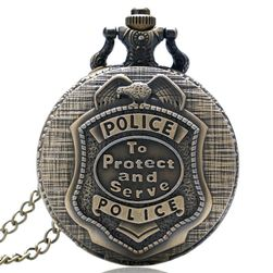 Vintage kapesní hodinky pro policisty