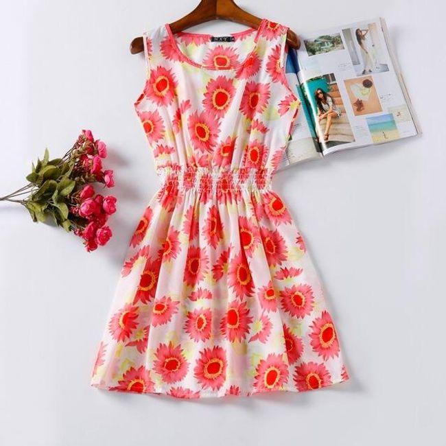 Rozmanité letní šaty - vzor 12, vel. 4 1