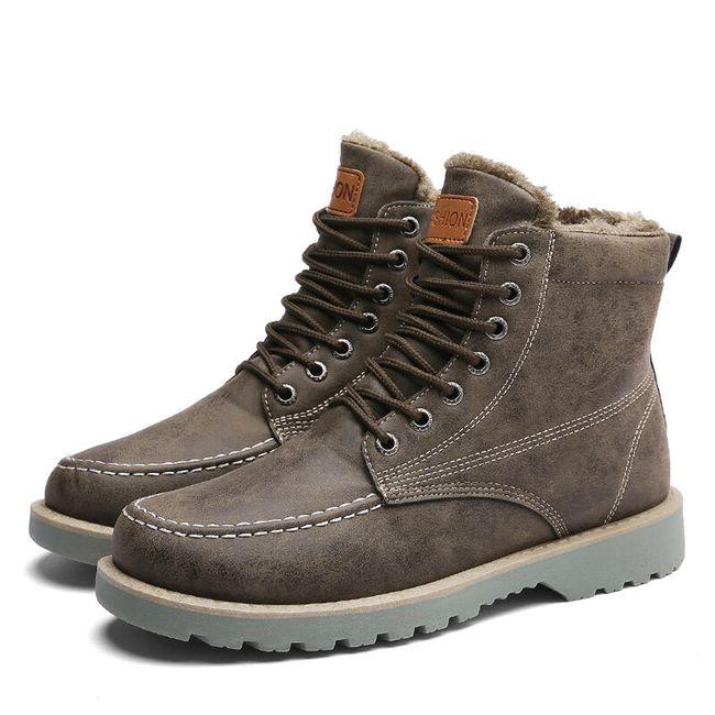 Muške zimske cipele - 3 boje 1