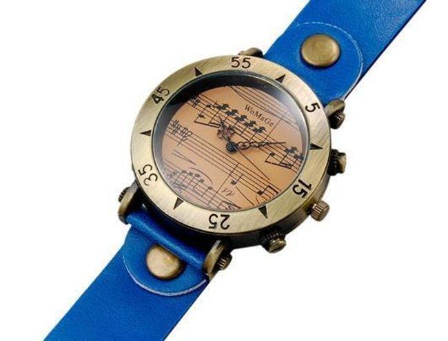 Retro zegarek z nutami - oferujemy 4 kolory 1