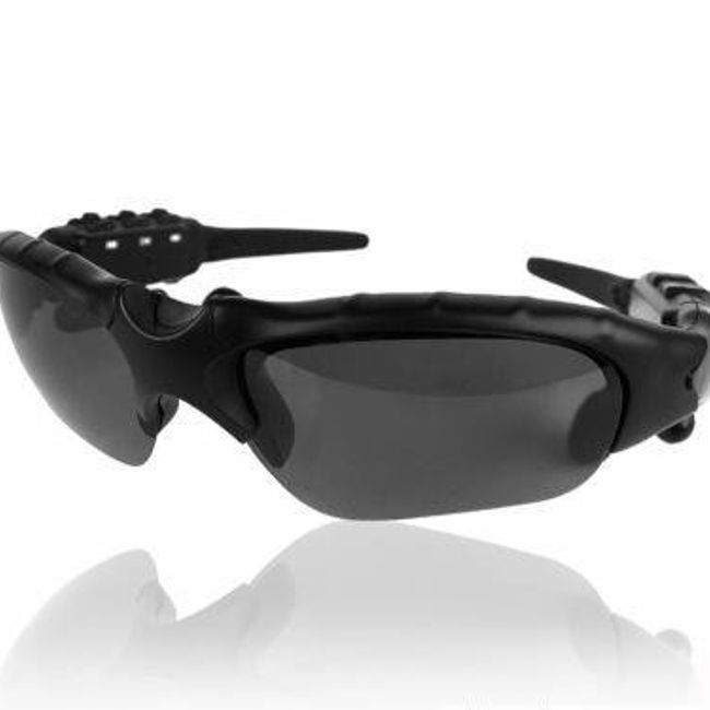 Sluneční brýle se zabudovaným MP3 přehrávačem a sluchátky - kapacita 2GB 1