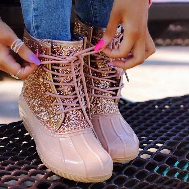 Damskie buty do kostki TF9265 1