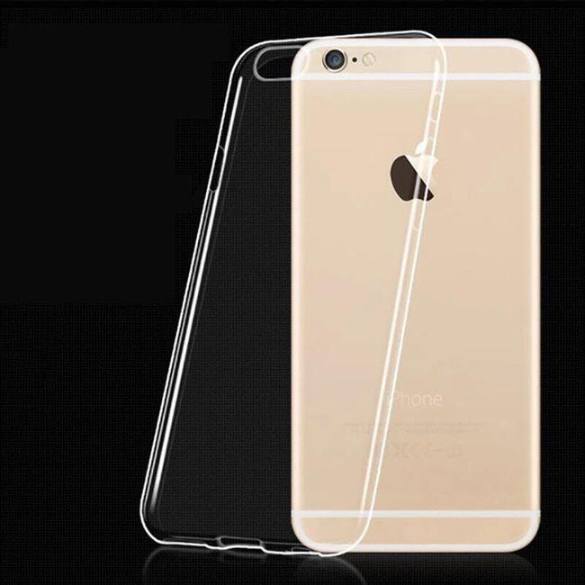 Ultra-tenký průhledný kryt pro iPhone 6S/6 1