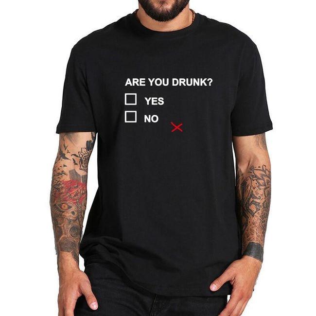 Мъжка тениска с къс ръкав Markus 1