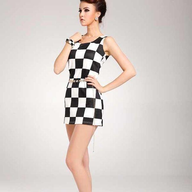 Retro šaty - ve 3 barvách 1