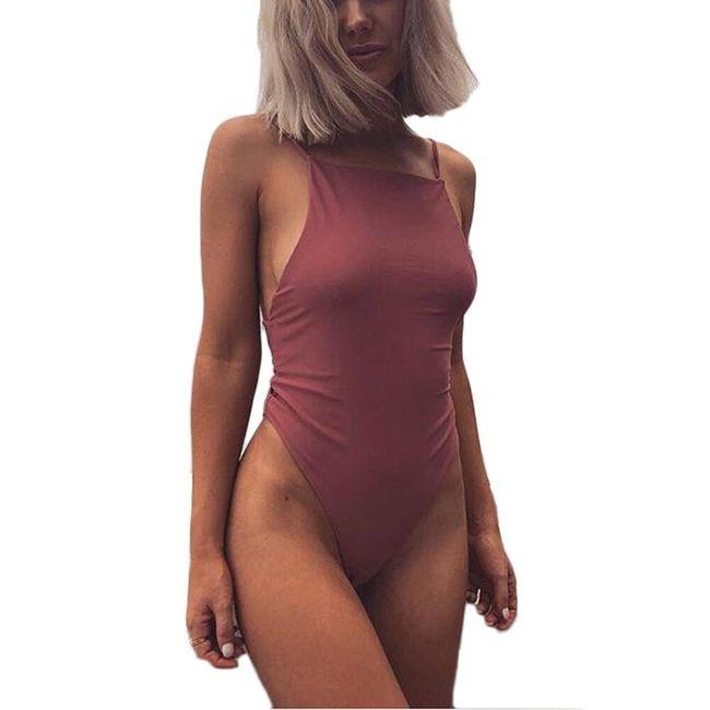 Damski strój kąpielowy jednoczęściowy Carrie 1