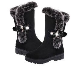 Damskie buty zimowe Posie