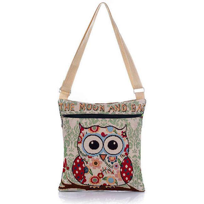 Женская сумка с совой 1