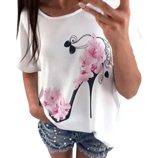 Ženska majica kratkih rukava Fancy 1