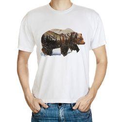 Tricou pt. bărbați cu motiv urs