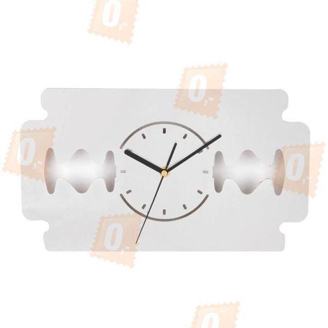 Designové nástěnné hodiny - žiletka 1