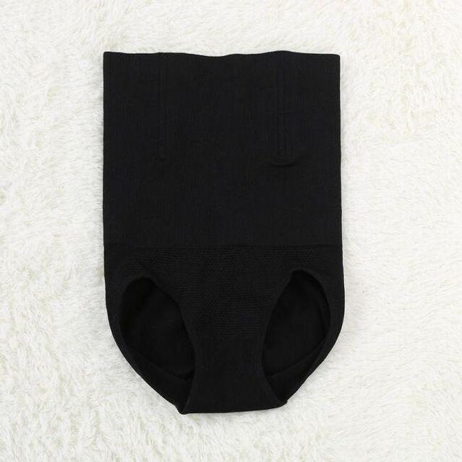 Stahovací kalhotky - Černá-velikost č. 3/4 1